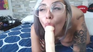 MiaDecker gives you a deepth, doggy & cum in mouth